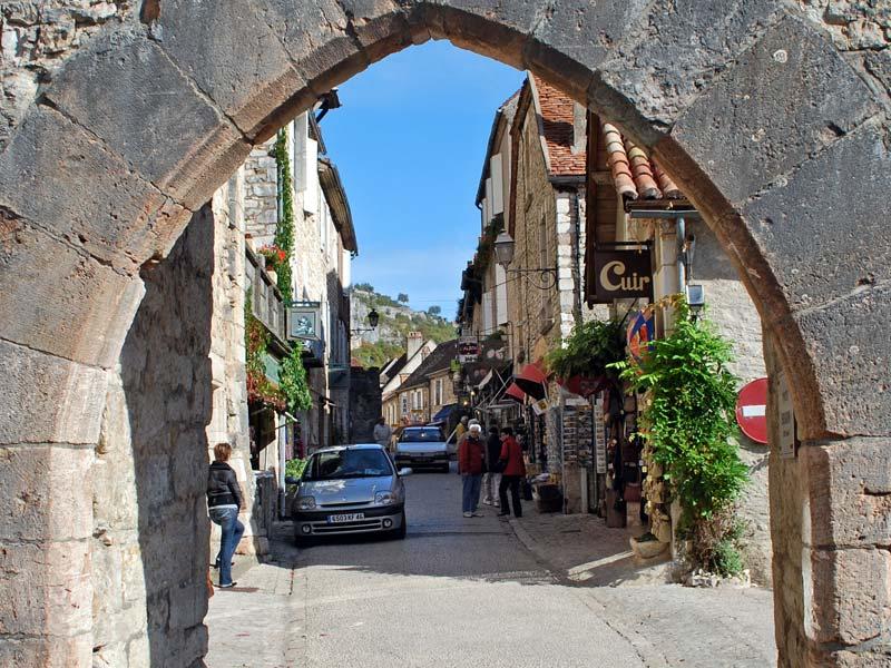 Domme (Домм), Аквитания, Франция - достопримечательности, путеводитель