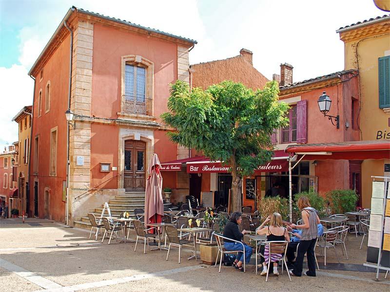 Фотографии: Roussillon - достопримечательности Русийона, Прованс. Что посмотреть в Русийоне. Окрестности Авиньона. Охристая тропа - Le Sentier des Ocres.